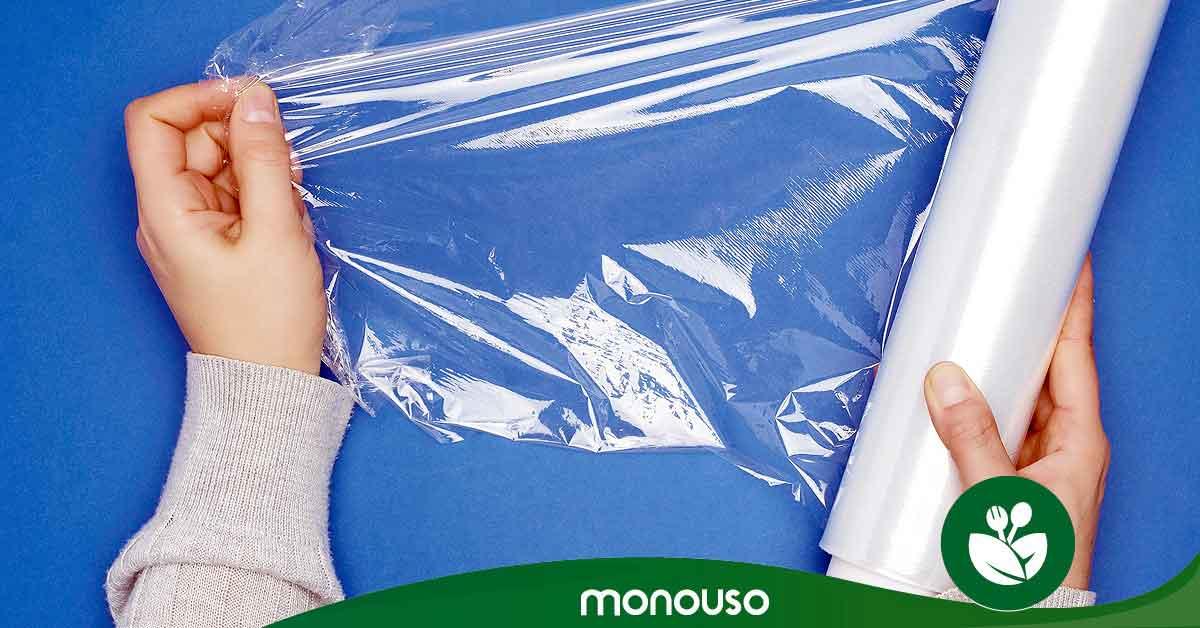 Você pode usar filme plástico no microondas?