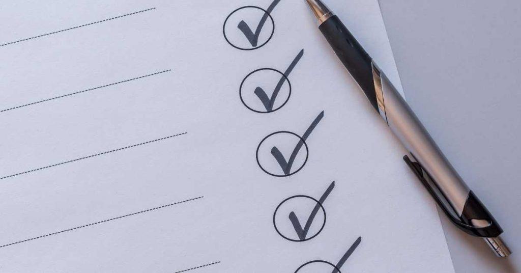 Checklist inicial sobre cómo hacer un local de comidas rápidas