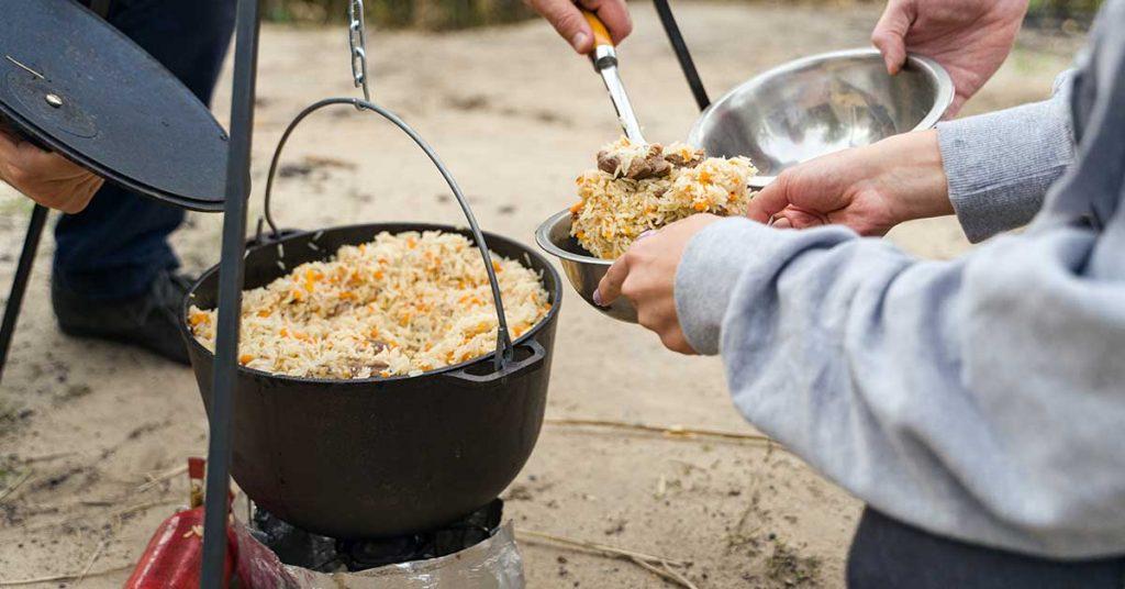 Qué llevar un día de campo para comer
