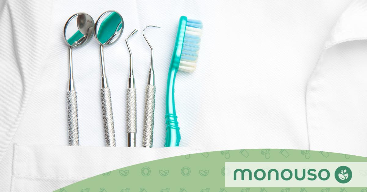 Batas dentais descartáveis Por que são necessárias?