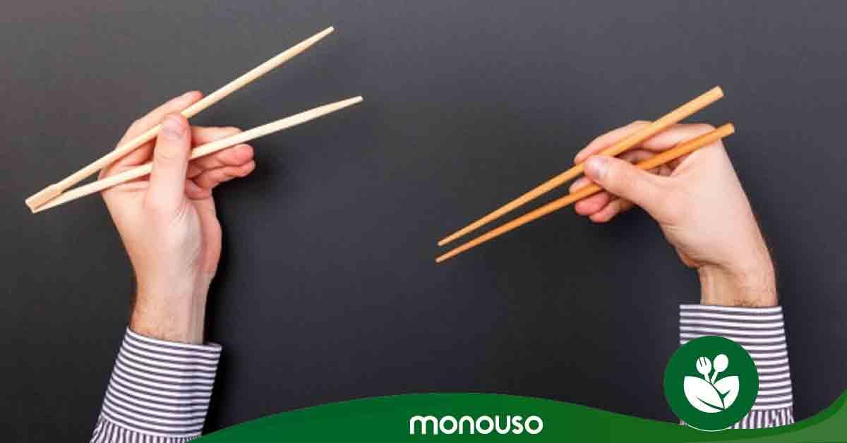 Cómo usar los palillos chinos y lucirte en el sushi