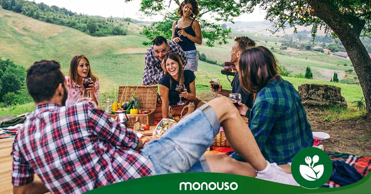 Comida para llevar de camping: recetas para un día al aire libre
