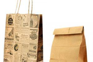 Como são feitos os sacos de papel Kraft?