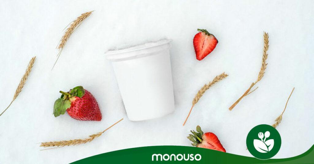 ¿Cuál es la capacidad de un envase de yogurt?