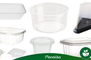 Tipos de embalagens de plástico para alimentos