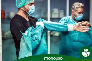 Melhores vestidos cirúrgicos descartáveis baratos