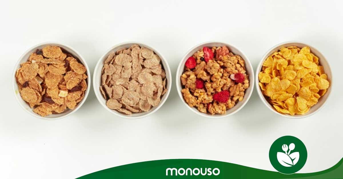 Muesli, granola y cereal ¿son lo mismo?