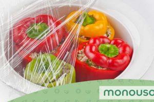 Dicas para embalar os alimentos com película transparente
