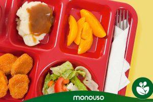 Vantagens das bandejas de refeição escolar de auto-serviço