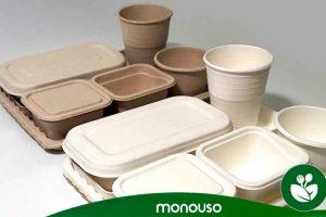 Razões para utilizar recipientes de bagaço na indústria da restauração