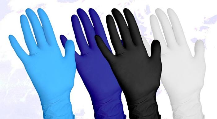 guantes mecanicos de colores