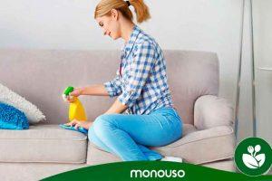 Como limpar mobiliário estofado