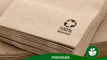 Razões para usar guardanapos de papel ecológicos no seu restaurante